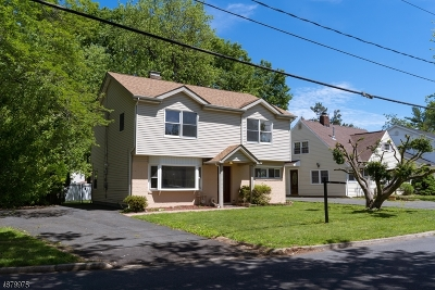 Rahway City, Rahway Single Family Home For Sale: 1056 Richard Blvd