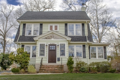 Maplewood Twp. Single Family Home For Sale: 420 Walton Rd