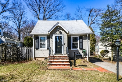 West Orange Twp. Single Family Home For Sale: 51 Maple Ave