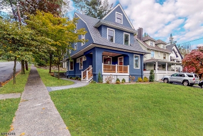 Montclair Twp. Single Family Home For Sale: 250 N Mountain Ave