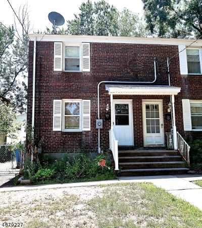 Rahway, Rahway City Single Family Home For Sale: 325 E Lake Ave