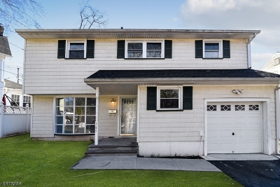 Rahway City, Rahway Single Family Home For Sale: 309 Egolf Dr