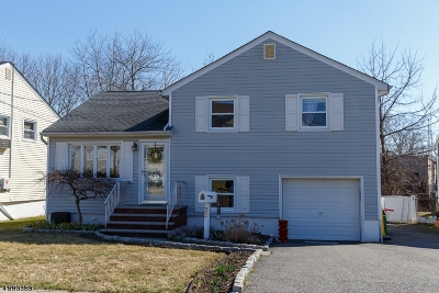Nutley Twp. Single Family Home For Sale: 30 Pauline Dr