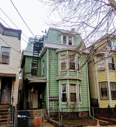 Newark City NJ Multi Family Home For Sale: $379,900