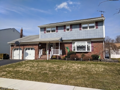 Rahway, Rahway City Single Family Home For Sale: 717 Moses Dr