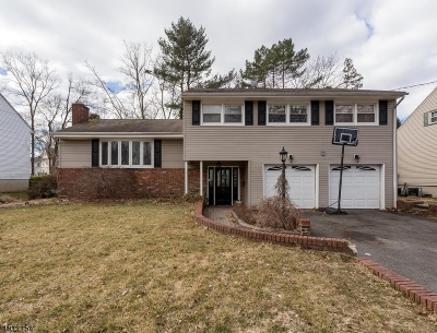 Cranford Twp. Single Family Home For Sale: 505 Gallows Hill Rd