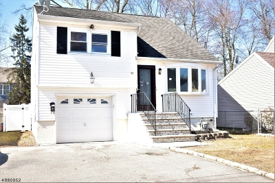 Parsippany-Troy Hills Twp. Single Family Home For Sale: 43 Pawnee Ave