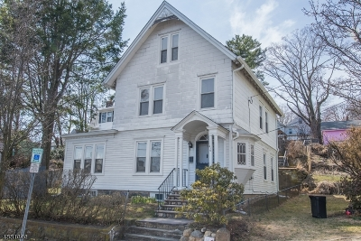 Boonton Town Multi Family Home For Sale: 216 William St
