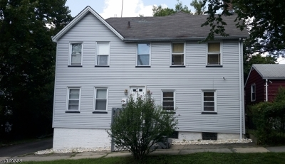 South Orange Village Twp. Multi Family Home For Sale: 131 3rd St