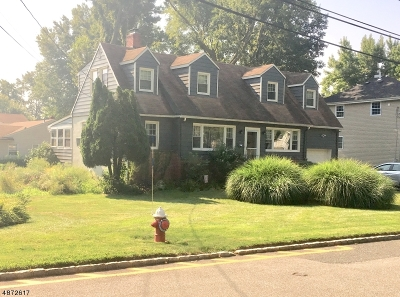 Fanwood Boro Single Family Home For Sale: 54 Trenton Ave
