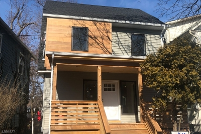 Montclair Twp. Single Family Home For Sale: 36 Central Ave