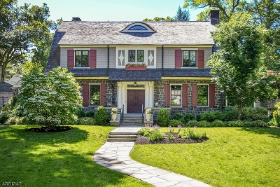Union County Single Family Home For Sale: 21 Essex Rd
