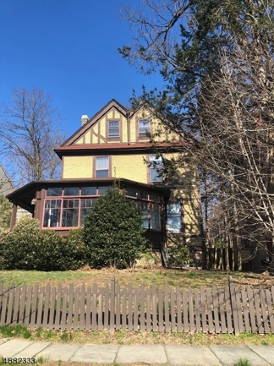 Montclair Twp. Single Family Home Active Under Contract: 45 Gates Ave
