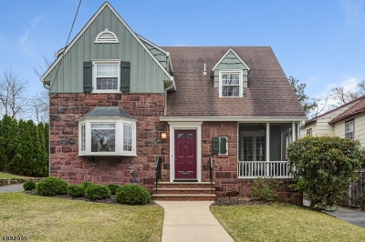 Maplewood Twp. Single Family Home For Sale: 104 Parker Ave