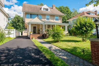 South Orange Village Twp. Single Family Home For Sale: 112 Fairview Ave