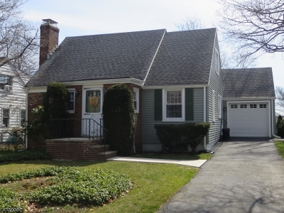 Cranford Twp. Single Family Home For Sale: 125 Mohawk Dr