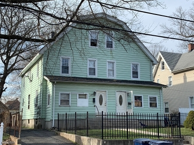 Plainfield City Multi Family Home For Sale: 1334-36 W 3rd St