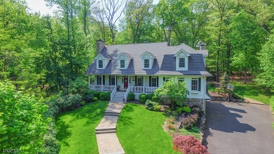 Scotch Plains Twp. Single Family Home For Sale: 16 Pheasant Lane
