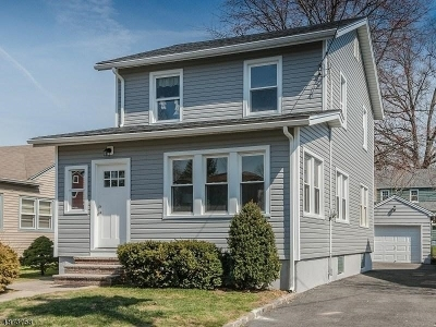 Union Twp. Single Family Home For Sale: 403 Bergen St