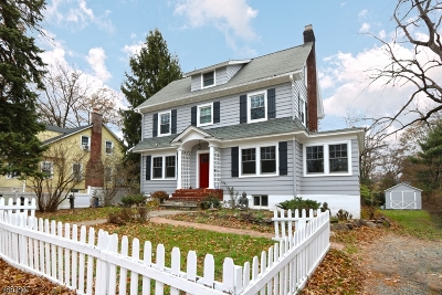 Montclair Twp. Single Family Home For Sale: 119 Alexander Ave