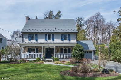 Millburn Twp. Single Family Home For Sale: 25 Lakeview Ave