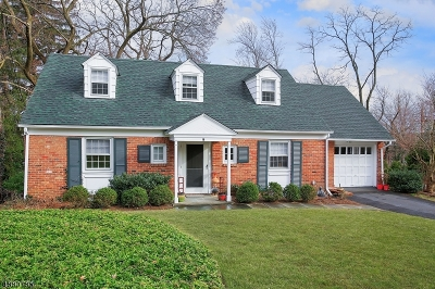 Millburn Twp. Single Family Home For Sale: 18 South Ter
