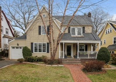 Maplewood Twp. Single Family Home For Sale: 23 New England Rd