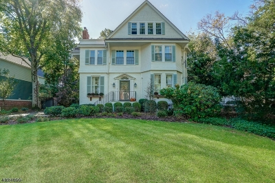 Millburn Twp. Single Family Home For Sale: 73 Knollwood Rd