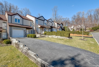 Parsippany-Troy Hills Twp. Condo/Townhouse For Sale: 8 Monett Ct