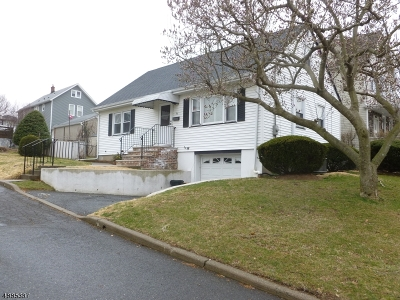 Nutley Twp. Single Family Home For Sale: 93 Meacham Ave