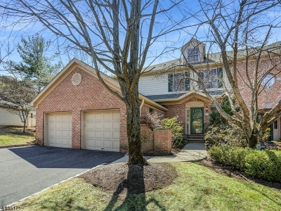 Morris Twp. Condo/Townhouse For Sale: 8 Chadwell Place