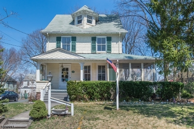 Nutley Twp. Single Family Home For Sale: 80 Hawthorne Ave