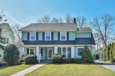 Montclair Twp. Single Family Home For Sale: 3 Wendover Rd