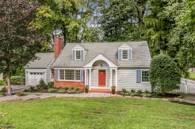 Chatham Twp. Single Family Home For Sale: 21 Oak Hill Rd