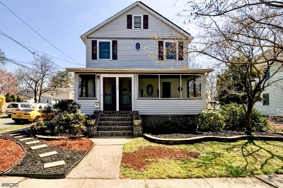 Cranford Twp. Single Family Home For Sale: 29 Cranford Ter