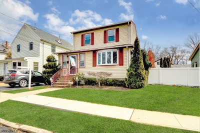 Cranford Twp. Single Family Home For Sale: 33 Cranford Ter