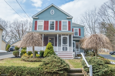 Boonton Town Single Family Home For Sale: 126 Lake Ave