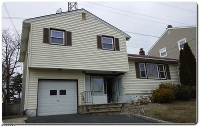 Nutley Twp. Single Family Home For Sale: 15 Carrie Ct