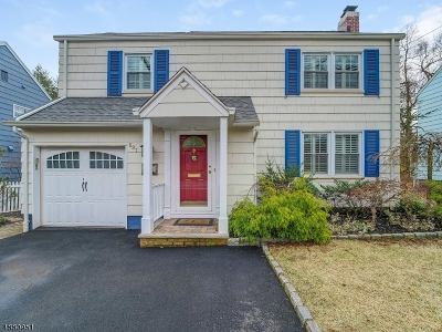 Montclair Twp. Single Family Home Active Under Contract: 697 Grove St