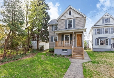 Cranford Twp. Single Family Home For Sale: 14 Grove St