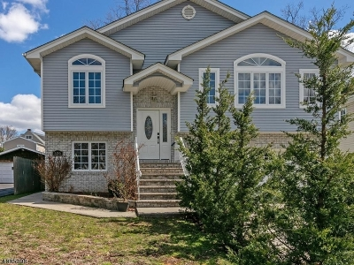 Roselle Park Boro Single Family Home For Sale: 535 Ashwood