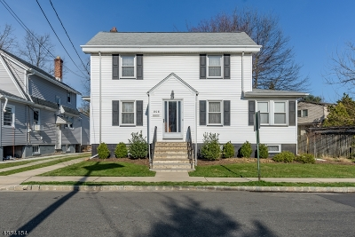 Maplewood Twp. Single Family Home For Sale: 808 Prospect St