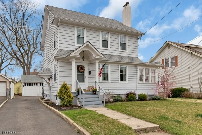Garwood Boro Single Family Home For Sale: 316 Spruce Ave