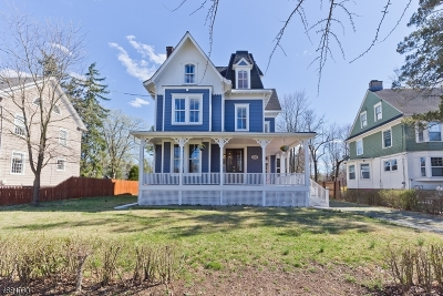 Plainfield City Single Family Home For Sale: 1220 Watchung Ave