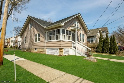 Cranford Twp. Single Family Home For Sale: 134 Hillcrest Ave