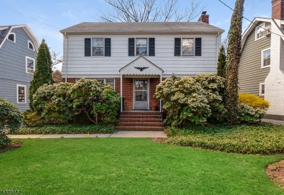 Maplewood Twp. Single Family Home For Sale: 56 Plymouth Ave
