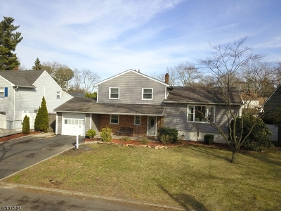 Rahway City Single Family Home For Sale: 161 Cornell Ave
