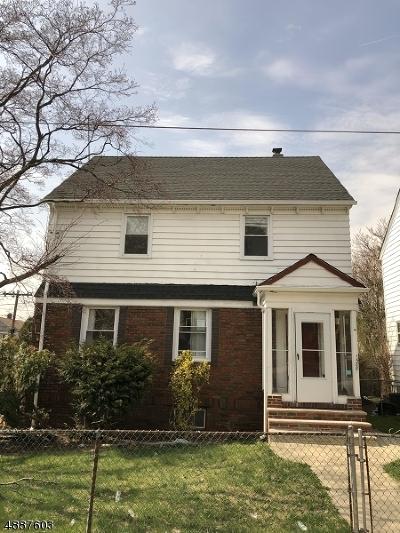 Hillside Twp. Single Family Home For Sale: 1588 Wyndmoor Ave