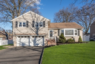 Cranford Twp. Single Family Home Active Under Contract: 304 Denman Rd