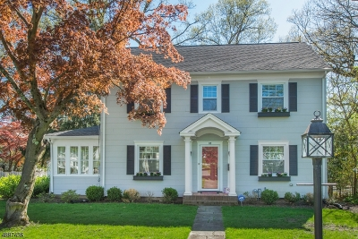 Morristown Town NJ Single Family Home For Sale: $665,000